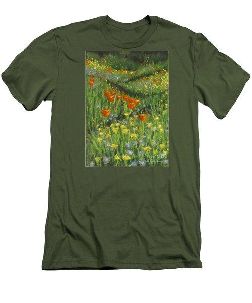 Poppy Trail Men's T-Shirt (Athletic Fit)