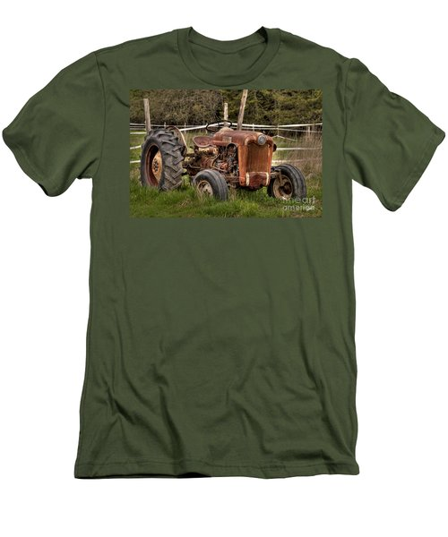 Ford Tractor Men's T-Shirt (Slim Fit) by Alana Ranney