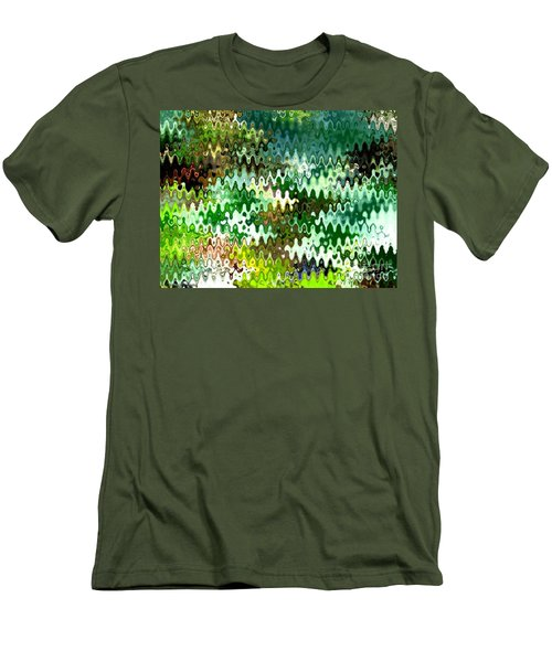 Men's T-Shirt (Slim Fit) featuring the photograph Forest by Anita Lewis