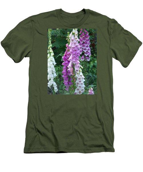 Foxglove After The Rains Men's T-Shirt (Slim Fit) by Eunice Miller