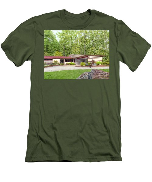 Frank Lloyd Wright At Duncan House Men's T-Shirt (Athletic Fit)