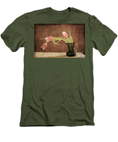 Fresh From The Garden II Men's T-Shirt (Slim Fit) by Alana Ranney