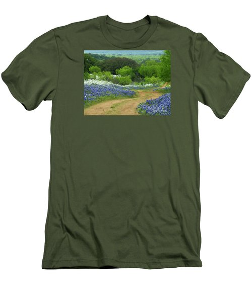 From Here To There Men's T-Shirt (Slim Fit) by Joe Jake Pratt