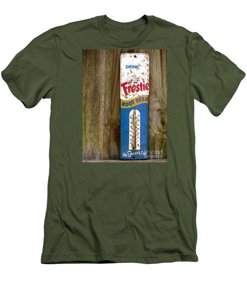 Frostie Root Beer  Men's T-Shirt (Slim Fit) by Joy Hardee