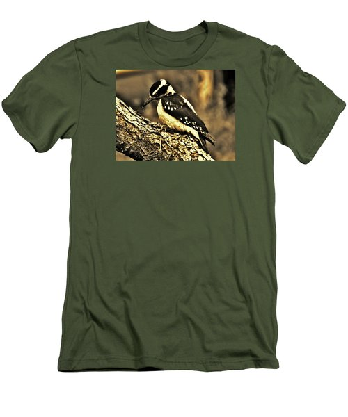 Men's T-Shirt (Slim Fit) featuring the photograph Full-color Not Needed by VLee Watson