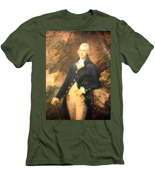Gainsborough's Francis Bassat -- Lord De Dunstanville Men's T-Shirt (Slim Fit)