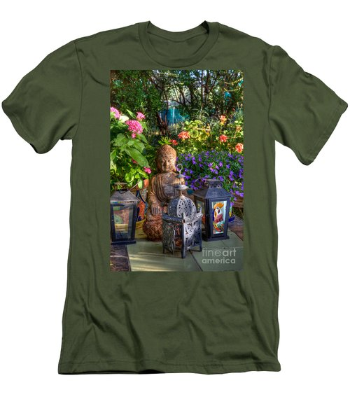 Garden Meditation Men's T-Shirt (Athletic Fit)