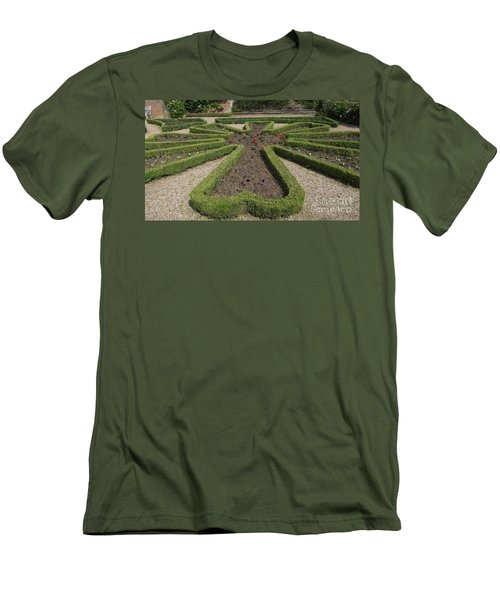 Men's T-Shirt (Slim Fit) featuring the photograph Garden Of Peace by Tracey Williams