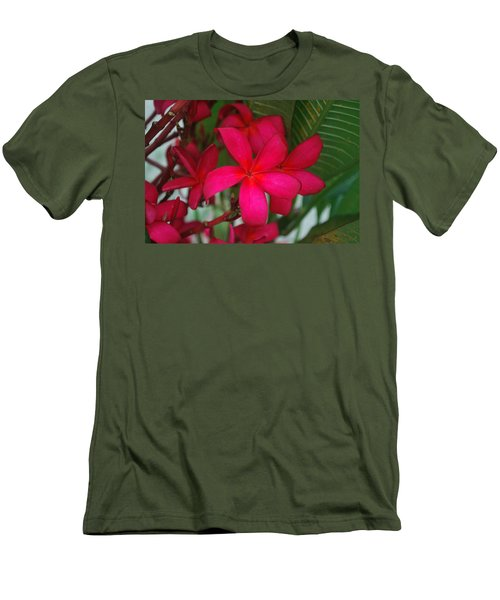 Men's T-Shirt (Slim Fit) featuring the photograph Garden Treasures by Miguel Winterpacht