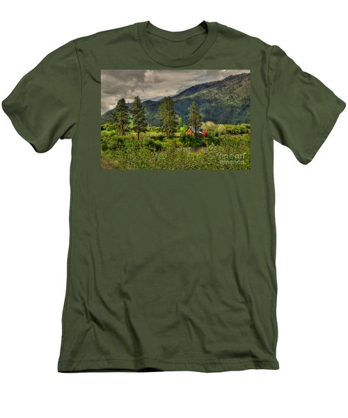 Garden Valley Men's T-Shirt (Slim Fit) by Sam Rosen