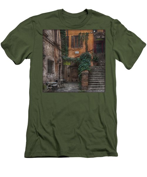 Gelateria Del Teatro Men's T-Shirt (Slim Fit) by Hanny Heim