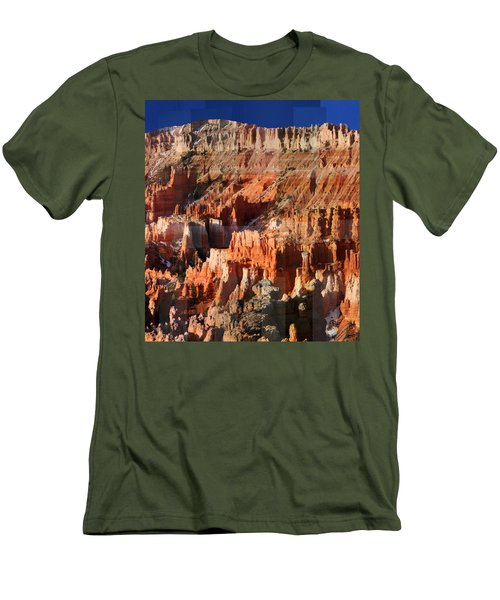 Geology Triptych - Three Men's T-Shirt (Athletic Fit)
