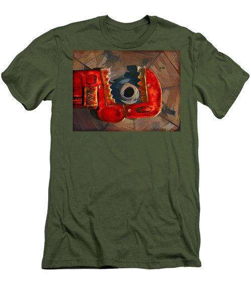 Get A Grip Men's T-Shirt (Athletic Fit)