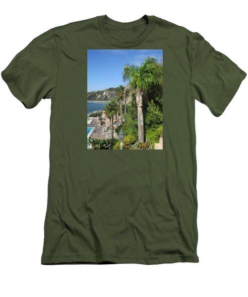Giant Palm Men's T-Shirt (Slim Fit) by Vivien Rhyan