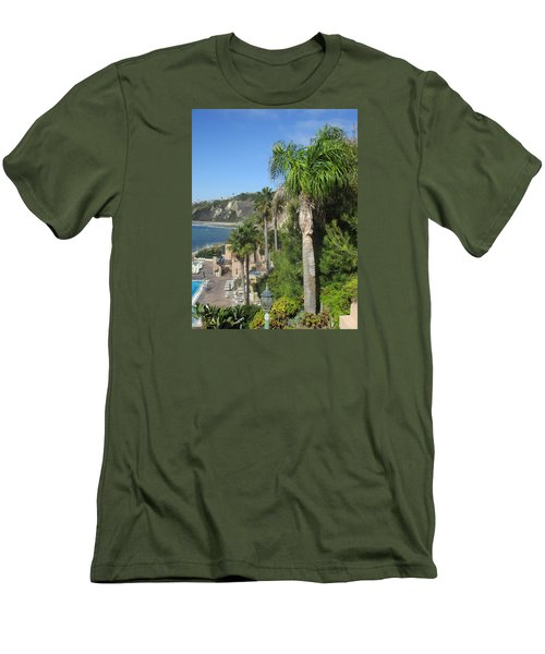 Giant Palm Men's T-Shirt (Athletic Fit)
