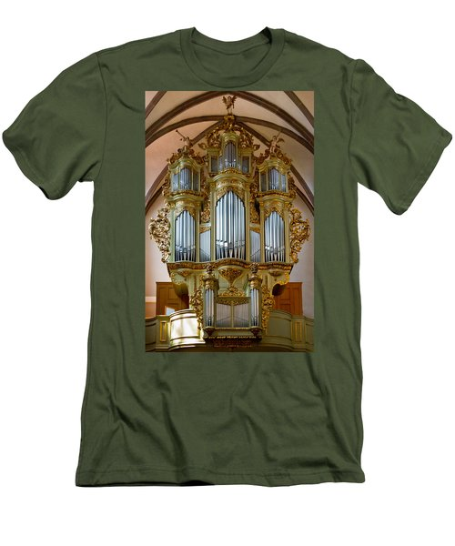 Glorious In Gold Men's T-Shirt (Athletic Fit)