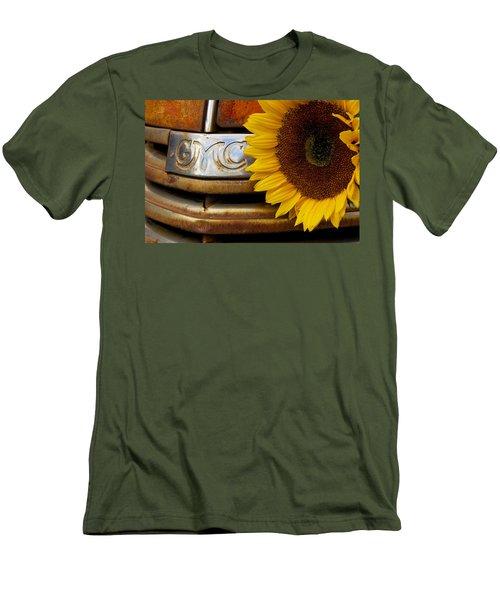 Gmc Sunflower Men's T-Shirt (Slim Fit) by Steven Bateson
