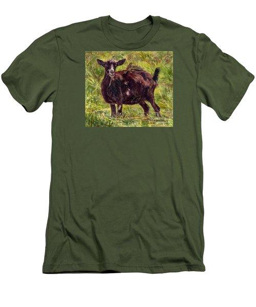 Goat Piggybackers Men's T-Shirt (Athletic Fit)
