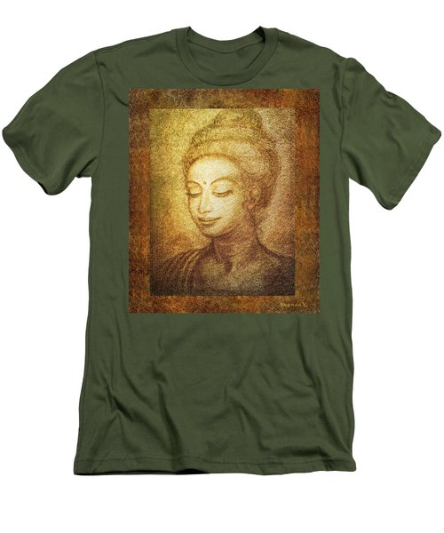 Golden Buddha Men's T-Shirt (Athletic Fit)