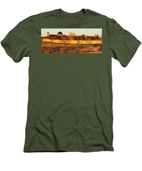 Golden Carmel Men's T-Shirt (Slim Fit)