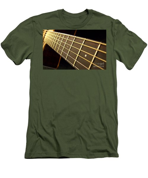 Men's T-Shirt (Slim Fit) featuring the photograph Golden Days by Andrea Anderegg