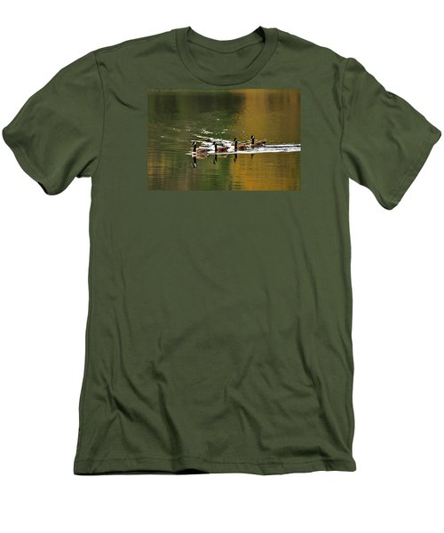 Golden Lake Men's T-Shirt (Athletic Fit)
