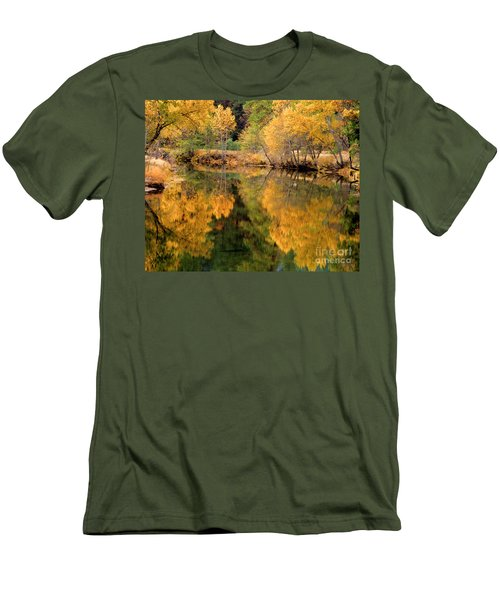Golden Reflections Men's T-Shirt (Athletic Fit)