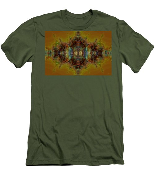 Golden Tapestry Men's T-Shirt (Athletic Fit)