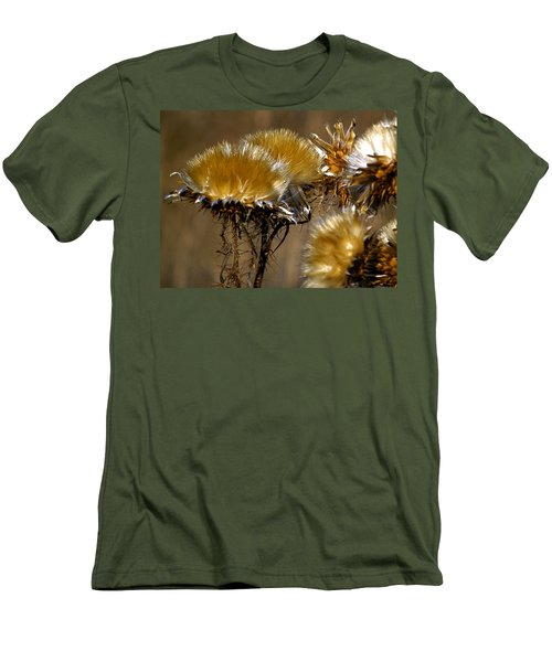Golden Thistle Men's T-Shirt (Slim Fit) by Bill Gallagher