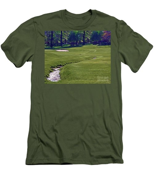 Golf Hazards Men's T-Shirt (Athletic Fit)