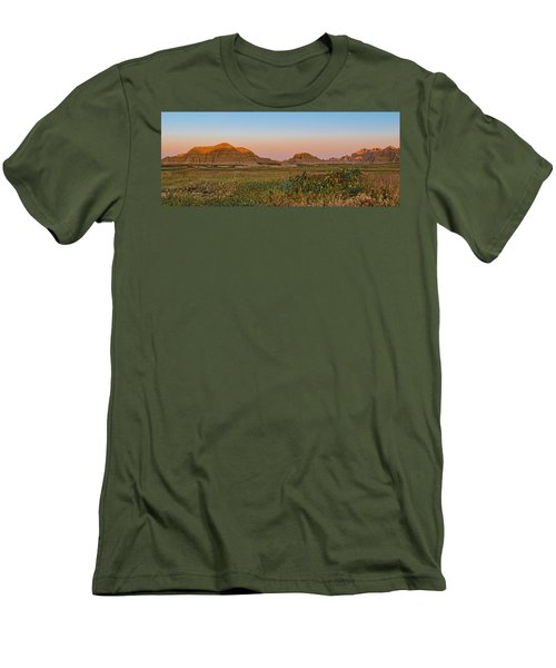 Men's T-Shirt (Slim Fit) featuring the photograph Good Morning Badlands II by Patti Deters