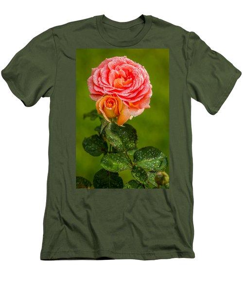 Good Morning Beautiful Men's T-Shirt (Slim Fit) by Ken Stanback