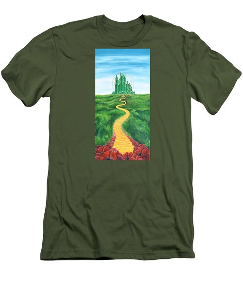 Goodbye Yellow Brick Road Men's T-Shirt (Athletic Fit)