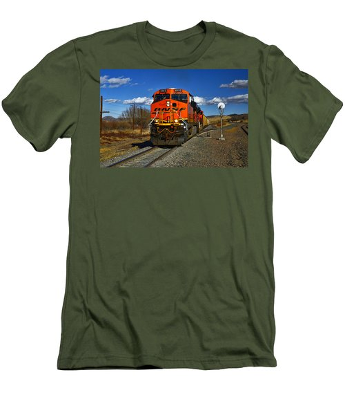 Got The Green Light Men's T-Shirt (Slim Fit) by Ken Smith