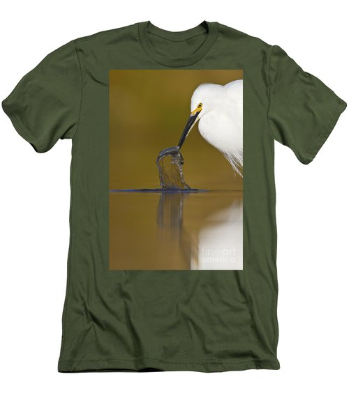 Men's T-Shirt (Slim Fit) featuring the photograph Gotcha by Bryan Keil