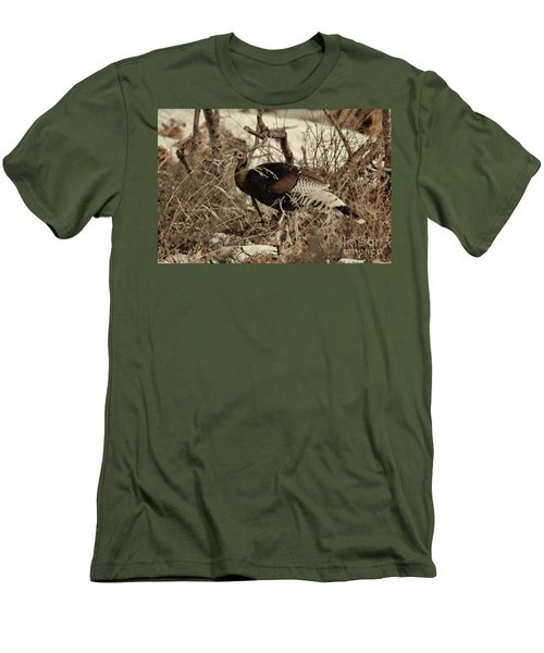 Gould's Wild Turkey Xii Men's T-Shirt (Athletic Fit)
