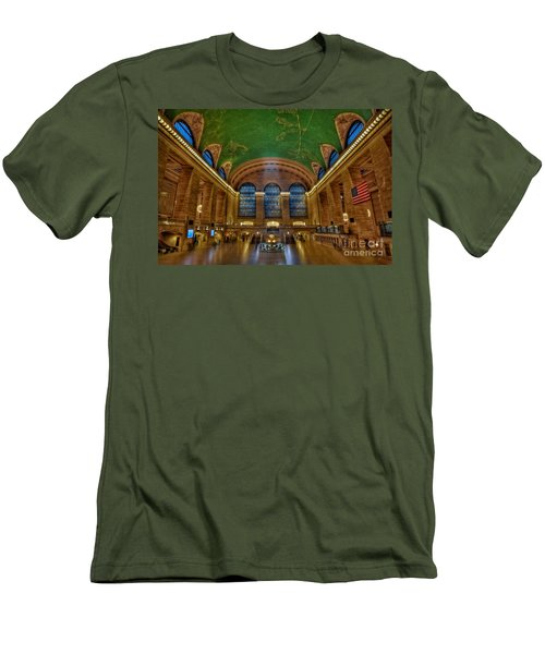 Grand Central Station Men's T-Shirt (Slim Fit)