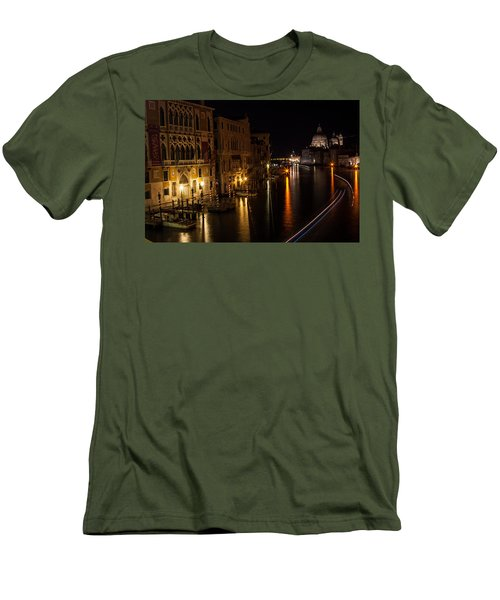 Men's T-Shirt (Slim Fit) featuring the photograph Grand Finale by Alex Lapidus