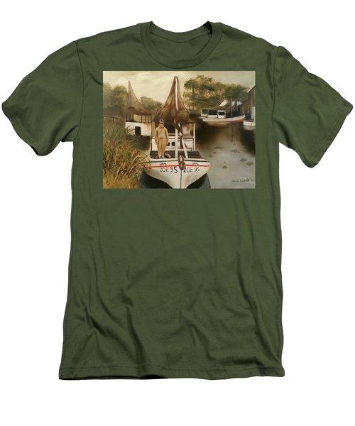 Grand Paw Domangue Men's T-Shirt (Athletic Fit)