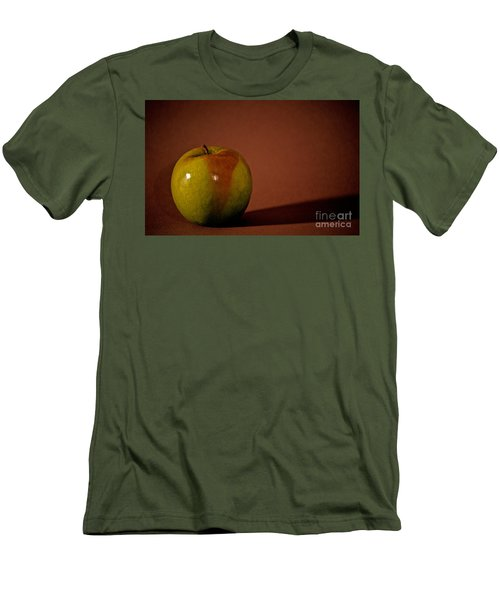 Men's T-Shirt (Slim Fit) featuring the photograph Granny Smith by Sharon Elliott