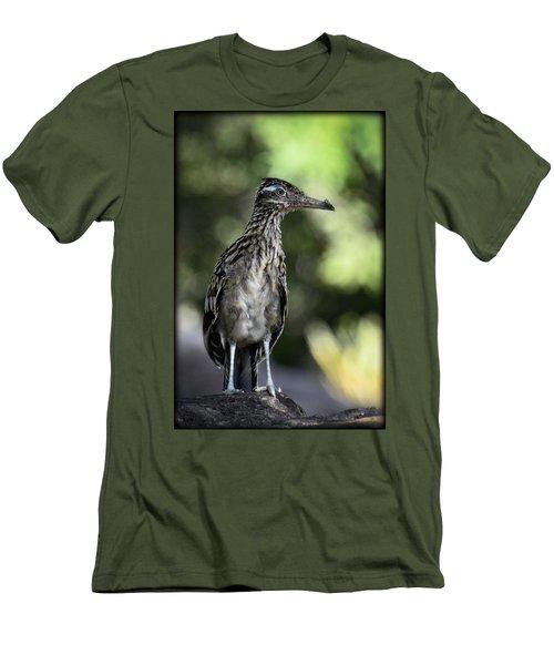 Greater Roadrunner  Men's T-Shirt (Slim Fit) by Saija  Lehtonen