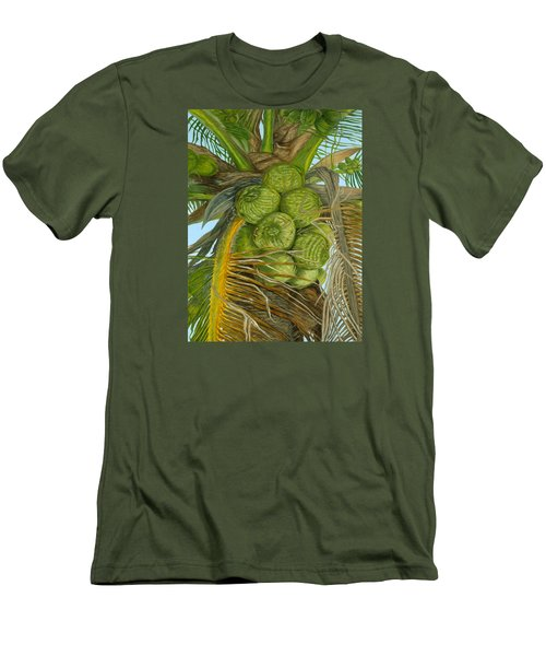 Green Coconut Men's T-Shirt (Athletic Fit)