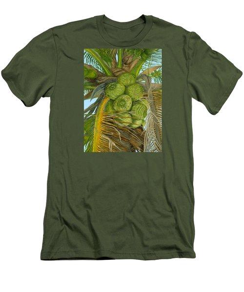 Green Coconut Men's T-Shirt (Athletic Fit)