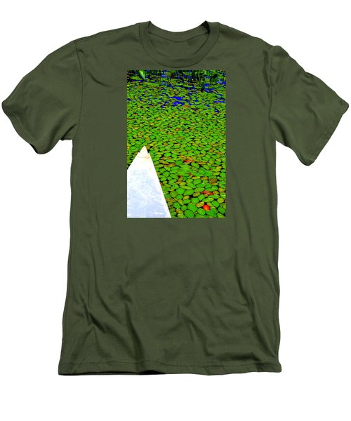 Men's T-Shirt (Slim Fit) featuring the photograph Green Dream by Zafer Gurel