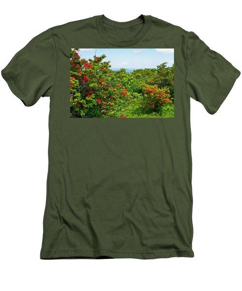 Gregory Bald Men's T-Shirt (Slim Fit) by Melinda Fawver