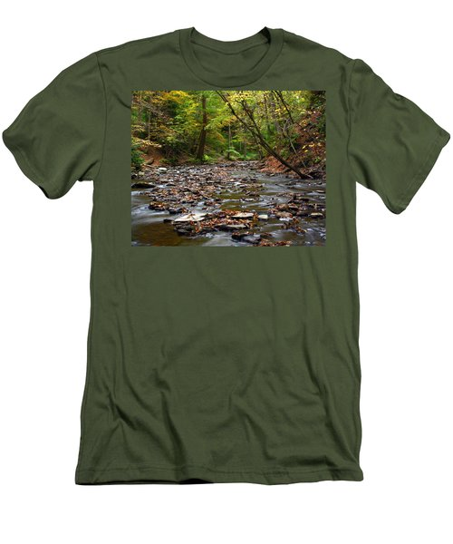 Creek Walk Men's T-Shirt (Athletic Fit)