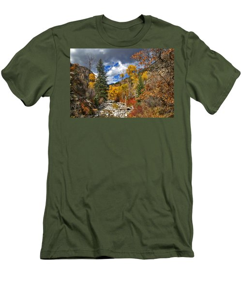 Grizzly Creek Cottonwoods Men's T-Shirt (Athletic Fit)