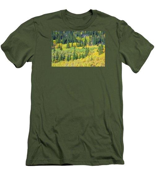 Guanella Pass Study 3 Men's T-Shirt (Athletic Fit)