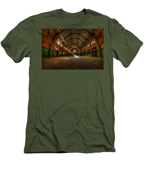 Hall Beam Men's T-Shirt (Athletic Fit)