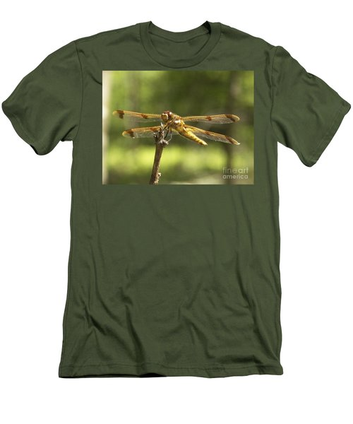 Happy Dragonfly Men's T-Shirt (Athletic Fit)
